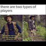 2 types of players in RDO