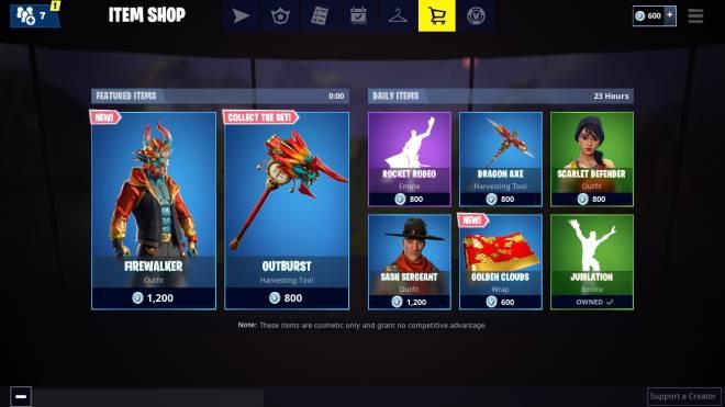Fortnite: Battle Royale - Thoughts On The Item Shop image 2