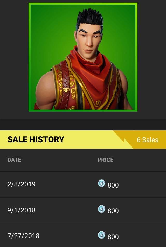 Fortnite: Battle Royale - Fun fact: the last time Crimson Scout was out was September 1st!!! 👍🏼 image 1
