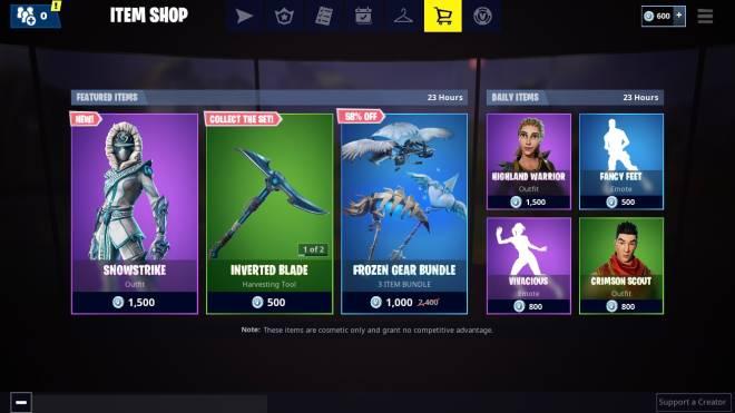 Fortnite: Battle Royale - Thoughts On The Item Shop 🤔  image 2