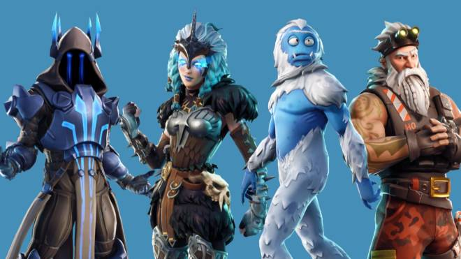 Fortnite: Battle Royale - My Squad: Villains Of The Cold  🥶 ❄️ ☃️  image 4