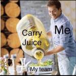"""Who else got that """"Carry Juice"""" on deck? 😂"""