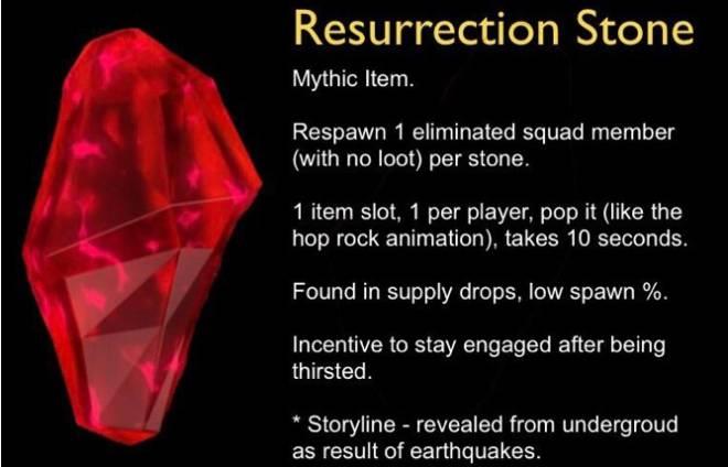 Fortnite: Battle Royale - Resurrection Stone Concept  image 5