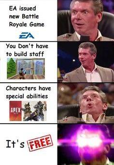Apex Legends: Memes - When you thought apex was gonna be trash😂 Follow for More Dank #Meme image 1