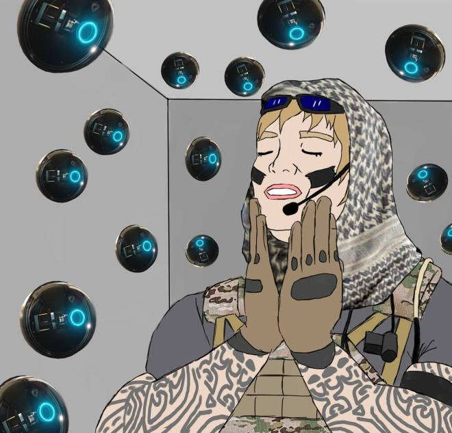 Rainbow Six: Memes - When she's obsessed with herself😂😬 image 1