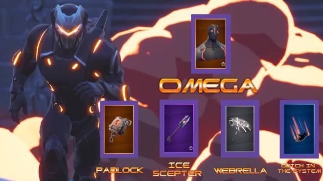 Fortnite: Battle Royale - Omega : The Malevolent Being  image 7