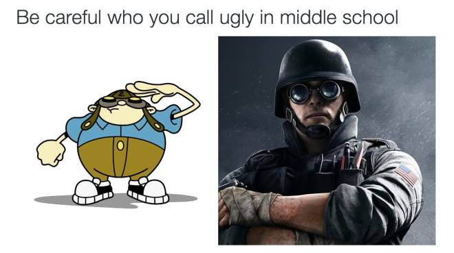 Rainbow Six: Memes - When puberty hits hard😂 image 1