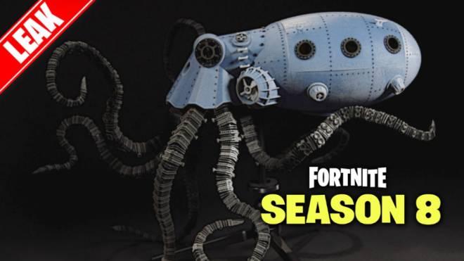 Fortnite: Battle Royale - Leaked Octopus Vehicle 🐙  image 7