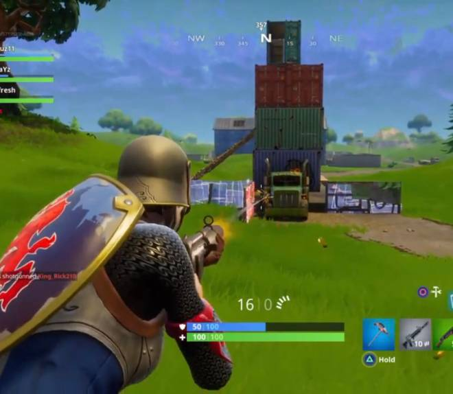 Fortnite: Battle Royale - Only OGs remember the Struggle to get the Loot on Top of This Truck! 🤣 image 1