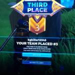 15 kills third place