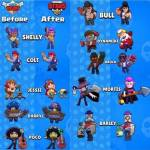 Every brawlers old looks