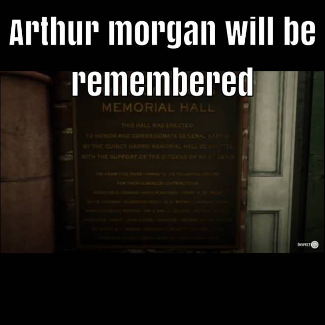 Red Dead Redemption: Memes - Spoilers Little thing I found out R.I.P Arthur  image 1
