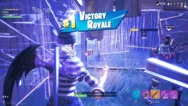 Fortnite: Battle Royale - Caught a couple of back to back dubs with Da Big 64 ❤️✨💪 image 2
