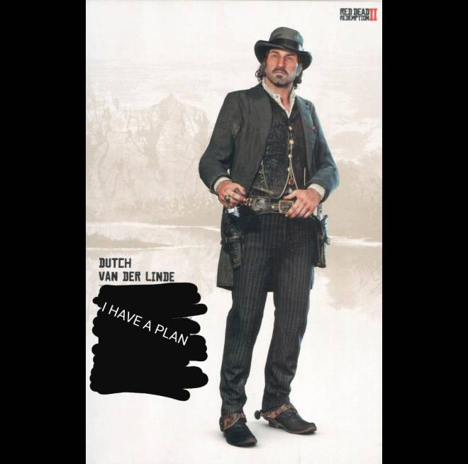 Red Dead Redemption: Memes - Dutchs Insta profile pic and bio be like  image 1