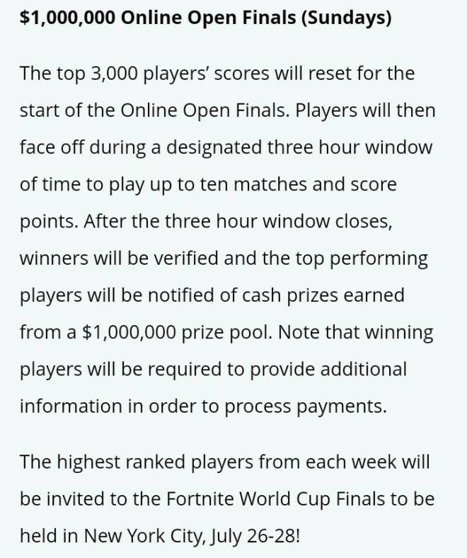 Fortnite: Battle Royale - How to qualify for world cup opens image 4