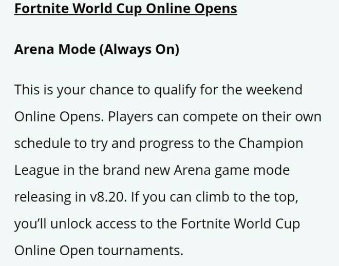 Fortnite: Battle Royale - How to qualify for world cup opens image 2