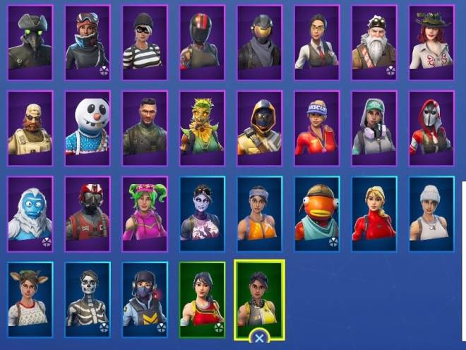 Fortnite: Battle Royale - Here's all of current skins 🤷‍♀️💞 image 3