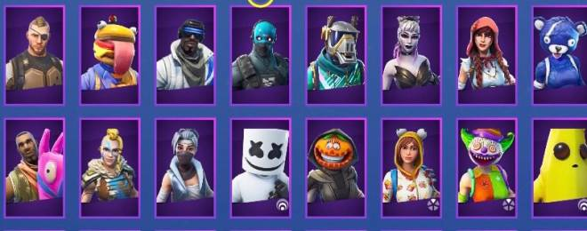 Fortnite: Battle Royale - Here's all of current skins 🤷‍♀️💞 image 4