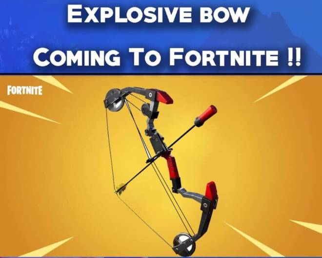 Fortnite: Battle Royale - Possible leaked weapon coming to battle royale  image 2