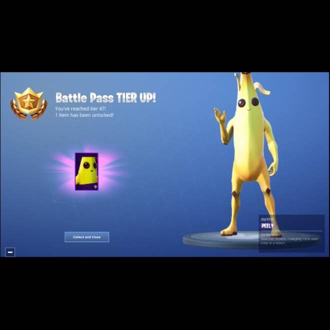 Fortnite: Battle Royale - Finally got the best skin in the battle pass (Banana Boi) 🍌  image 1