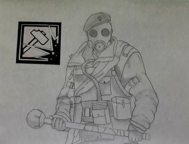 Rainbow Six: Art - This is really cool art image 2