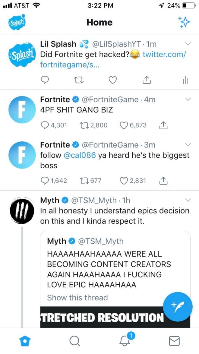 Fortnite: Memes - Someone Hacked Fortnite's Twitter 😂😂😂 image 2