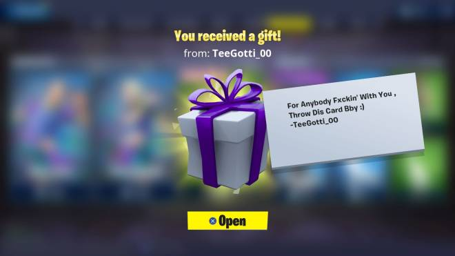 Fortnite: Battle Royale - 🎁 Gift from my baby 🎁 image 2