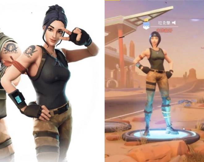 Fortnite: Battle Royale - If Rio and Mari were included as defaults  image 2