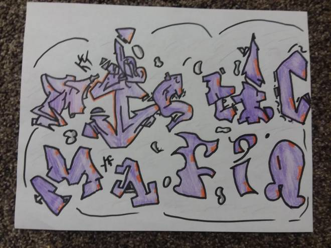 Fortnite: Battle Royale - Rat ×Da Big 64 Double MM Graffiti  image 2