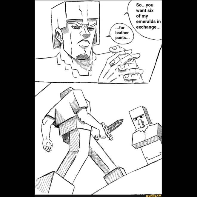 Minecraft: Memes - . image 1