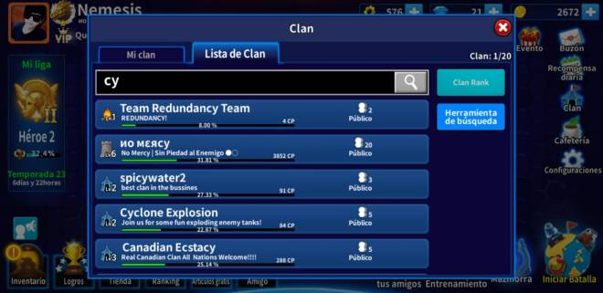GunboundM: Find a clan and Friends - CLAN  NO MERCY image 3