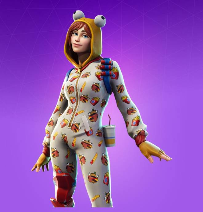 Fortnite: Battle Royale - liljellybean's current combo ✨ image 2