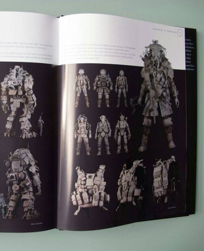 Apex Legends: General - So bloodhound was in the Titanfall 2 art book! image 1