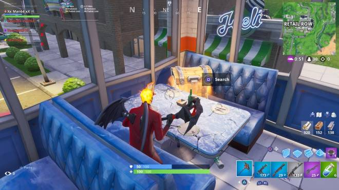 Fortnite: Battle Royale - Inferno had a date with a Chest today 💕 image 2