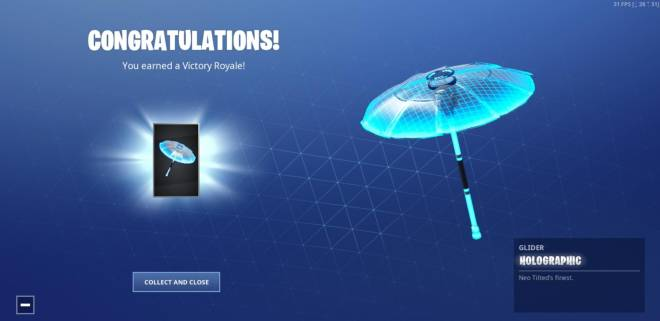 Fortnite: Battle Royale - *NEW* Season 9 Umbrella image 2