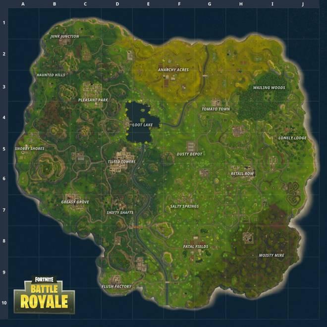 Fortnite: Battle Royale - Let's talk battle royale and maps  image 1