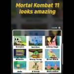 Spongebob depicts Mortal Kombat 11