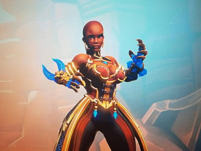 Paladins: General - Does this Imani skin remind you of someone? image 1
