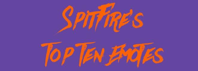 Fortnite: Battle Royale - _SpitFire's List : Top Ten Emotes 🕺🏾📝‼️ image 1