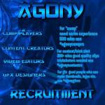Are you interested in joining a team we are team Agony and currently looking for new members do you