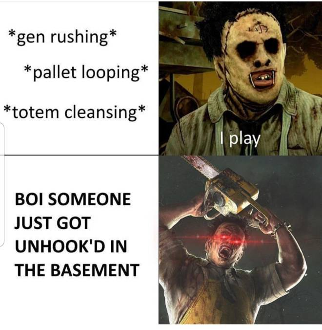 Dead by Daylight: Memes - Real shit  image 1
