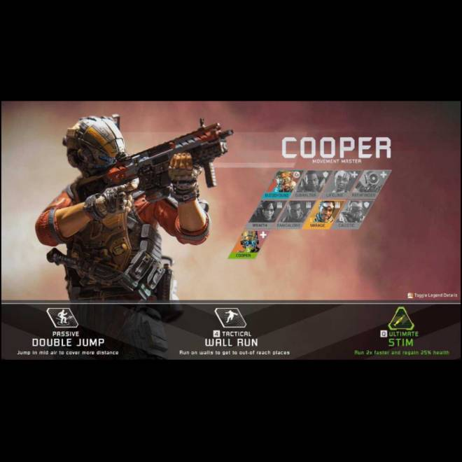 Apex Legends: General - Titanfall inspired Apex Character  image 1