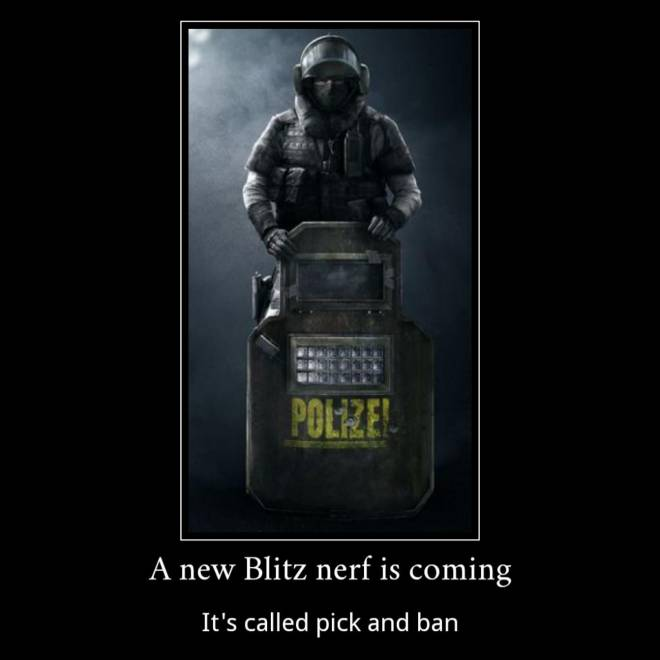 Rainbow Six: Memes - Can't wait for pick and ban! image 1