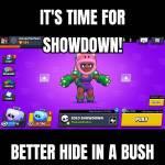 Rosas in showdown be like