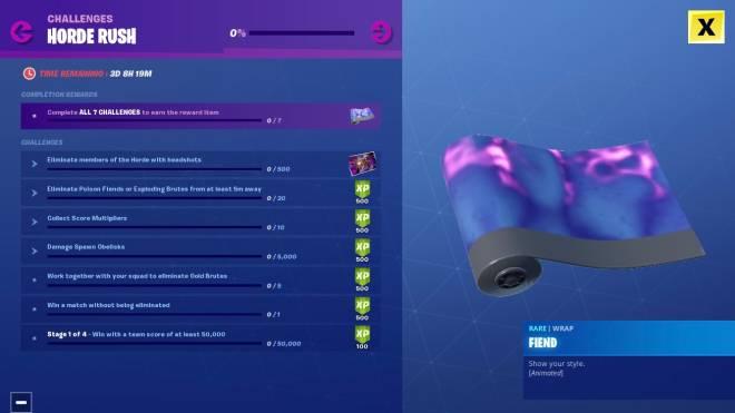 Fortnite: Battle Royale - Fortnite Update Adds Horde Rush LTM And New Gun image 6