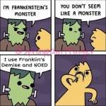 Can we get a Frankenstein's monster next chapter?