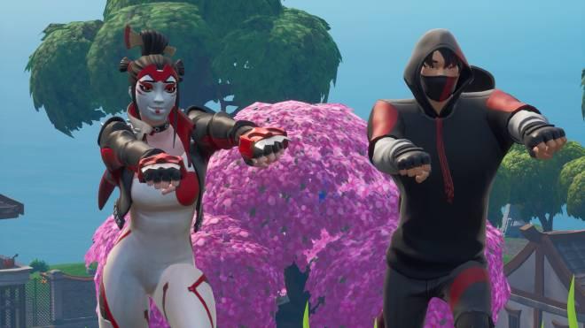 Fortnite: Battle Royale - Takara X Ikonik 💕✨ and a lil Pumpkin Boi 🎃 Ft. theuglycarti and CallMeLucifer  image 6