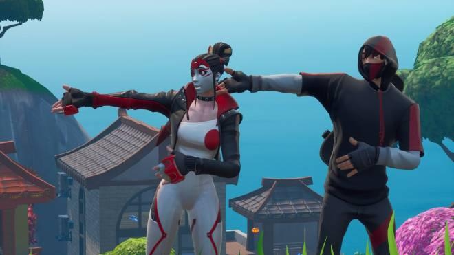 Fortnite: Battle Royale - Takara X Ikonik 💕✨ and a lil Pumpkin Boi 🎃 Ft. theuglycarti and CallMeLucifer  image 4