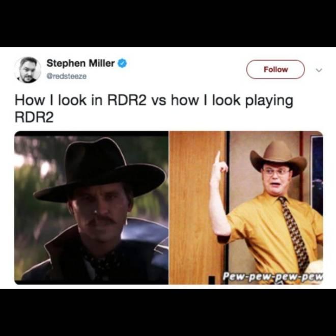 Red Dead Redemption: Memes - Pew-Pew-Pew 😂🔫 image 1