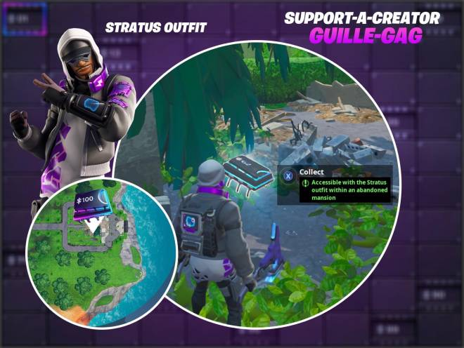 Fortnite: Battle Royale - Fortbyte #62 Guide image 1